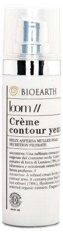 Bioearth - Loom Creme Contour des Yeux